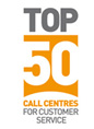 Top 50 Call Centre Award